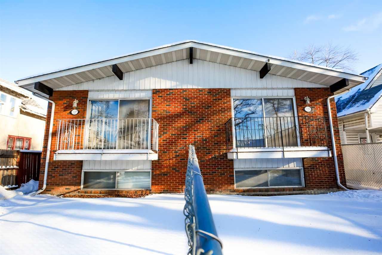 Main Photo: 11215/11217 93 Street in Edmonton: Zone 05 House Duplex for sale : MLS®# E4186107