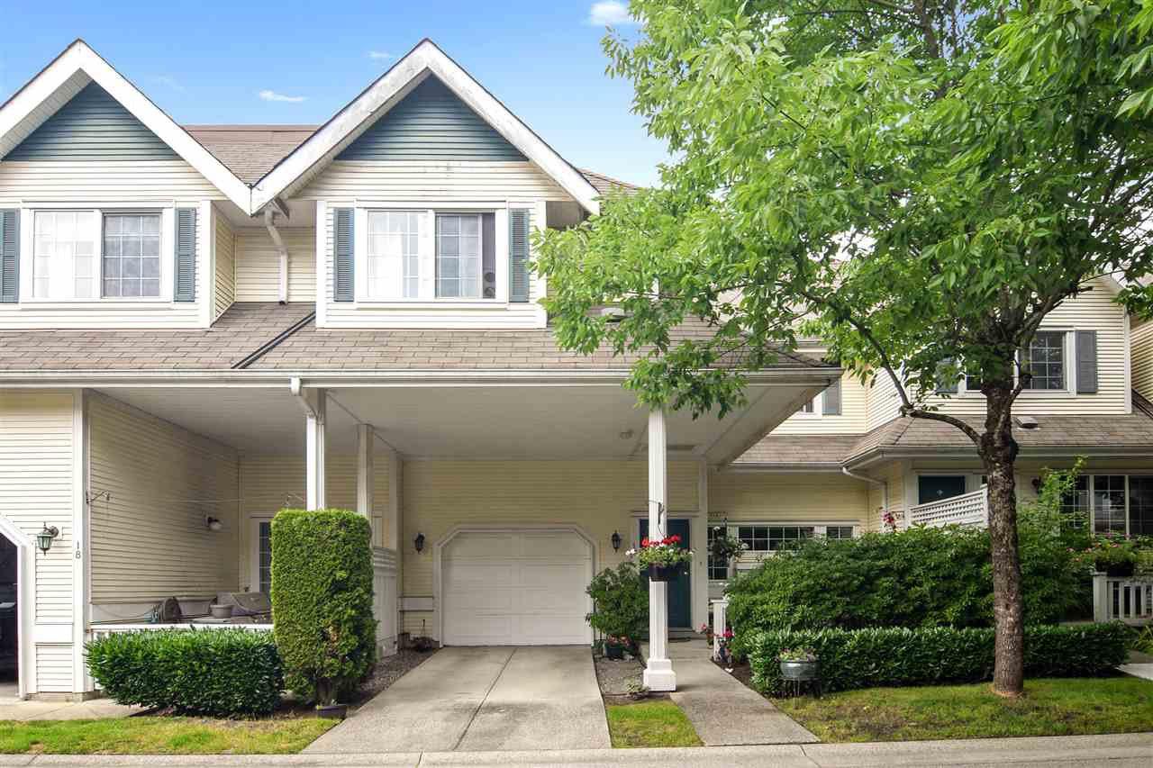 "Main Photo: 17 11355 236 Street in Maple Ridge: Cottonwood MR Townhouse for sale in ""Robertson Ridge"" : MLS®# R2472014"