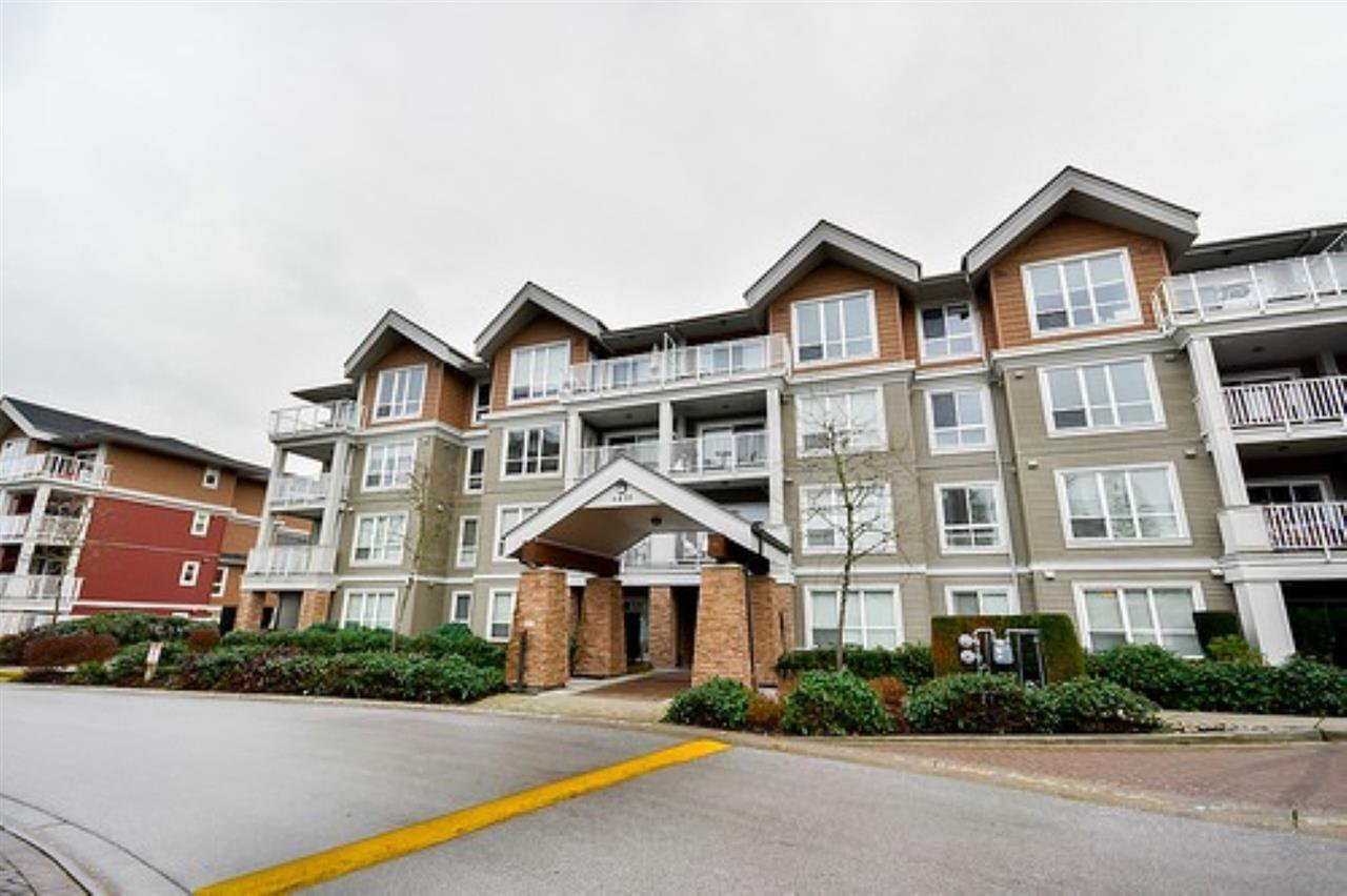"Main Photo: 405 6430 194 Street in Surrey: Clayton Condo for sale in ""Waterstone"" (Cloverdale)  : MLS®# R2482000"