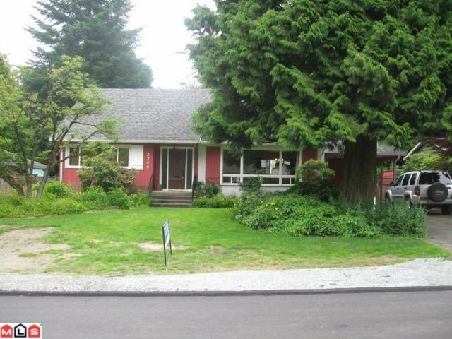 "Main Photo: 2346 CLARKE Drive in Abbotsford: Central Abbotsford House for sale in ""Central Abbotsford"" : MLS®# F1116526"