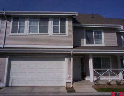 "Main Photo: 71 16995 64TH AV in Surrey: Cloverdale BC Townhouse for sale in ""Lexington"" (Cloverdale)  : MLS®# F2606903"