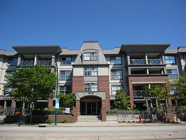 "Main Photo: 403 2478 SHAUGHNESSY Street in Port Coquitlam: Central Pt Coquitlam Condo for sale in ""SHAUGHNESSY EAST"" : MLS®# V1041974"