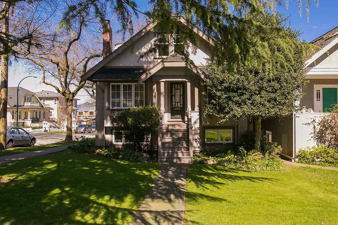 Main Photo: 3495 W 18TH Avenue in Vancouver: Dunbar House for sale (Vancouver West)  : MLS®# R2055653