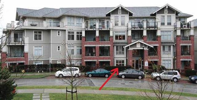 "Main Photo: 101 285 ROSS Drive in New Westminster: Fraserview NW Condo for sale in ""THE GROVE"" : MLS®# R2056148"