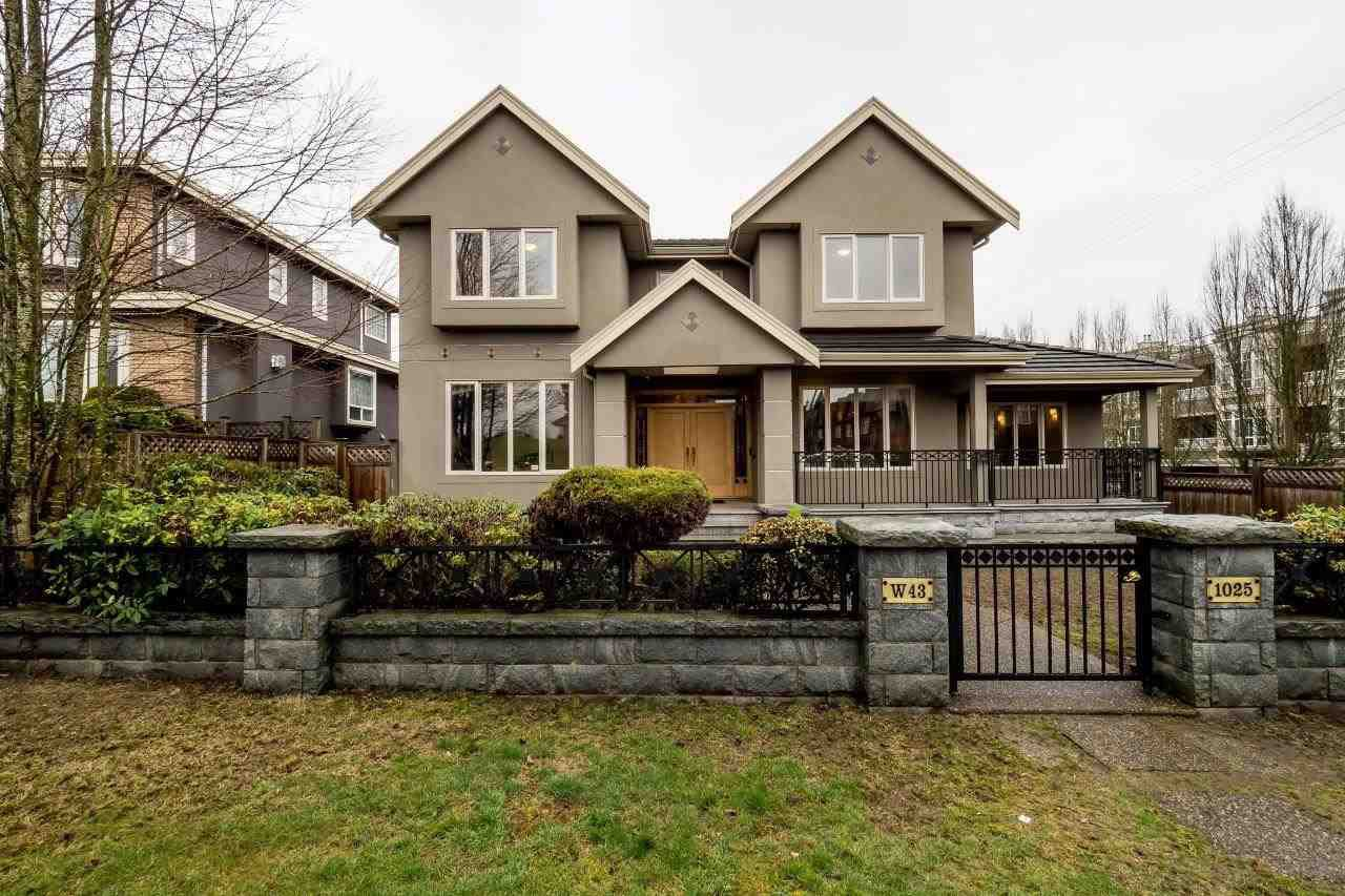 Main Photo: 1025 W 43RD AVENUE in : South Granville House for sale : MLS®# R2038842