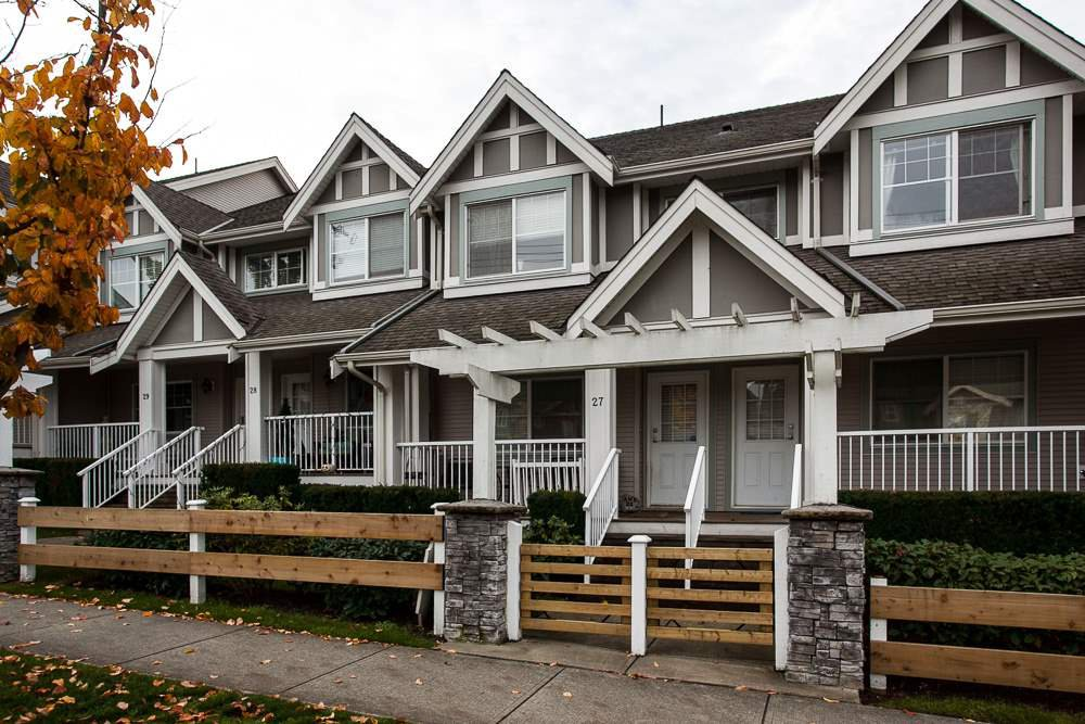 """Main Photo: 27 6555 192A Avenue in Surrey: Clayton Townhouse for sale in """"Carlisle"""" (Cloverdale)  : MLS®# R2121708"""