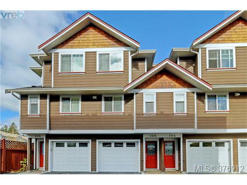 Main Photo: 106 2680 Peatt Rd in VICTORIA: La Langford Proper Row/Townhouse for sale (Langford)  : MLS®# 756711