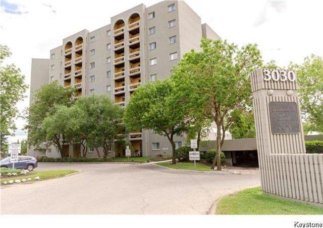 Main Photo: 804 3030 Pembina Highway in Winnipeg: Fort Richmond Condominium for sale (1K)  : MLS®# 1723089