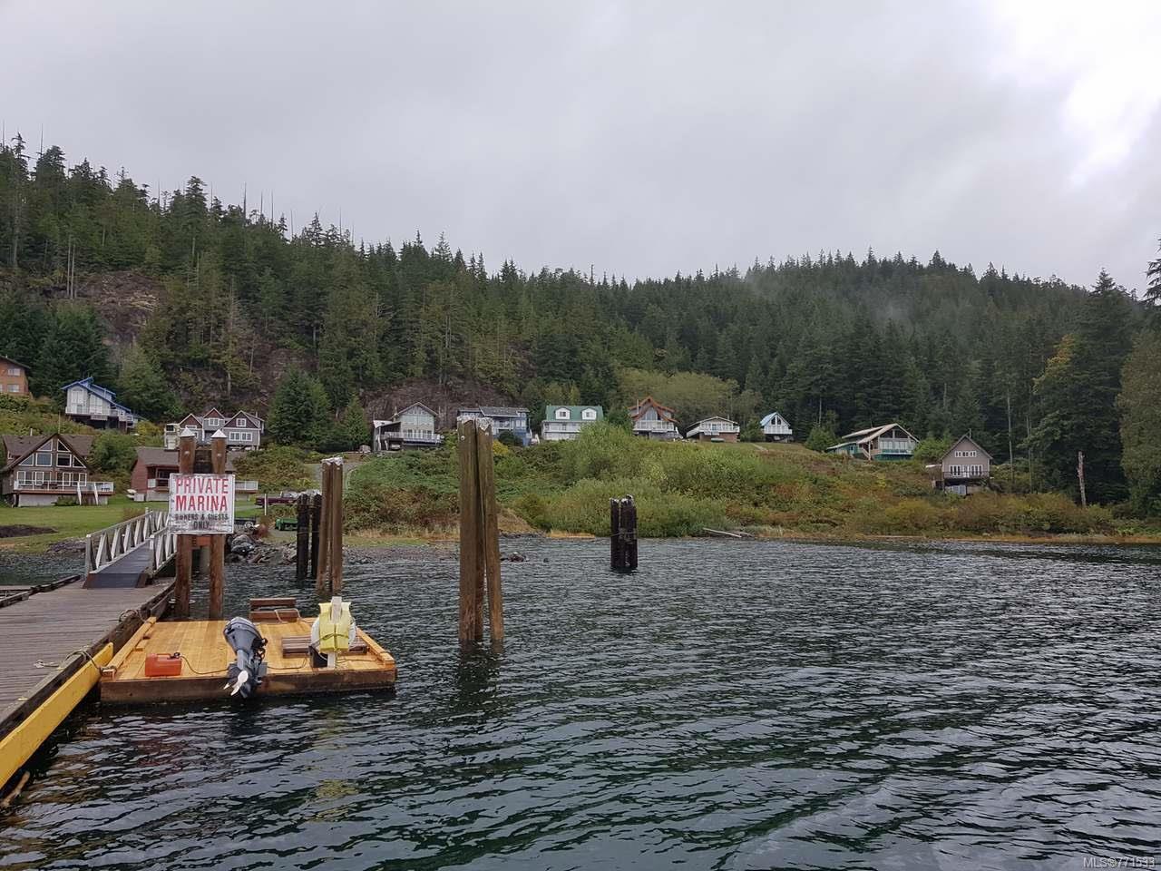 Main Photo: LT 20 Haggard Cove in PORT ALBERNI: PA Alberni Inlet Land for sale (Port Alberni)  : MLS®# 771533