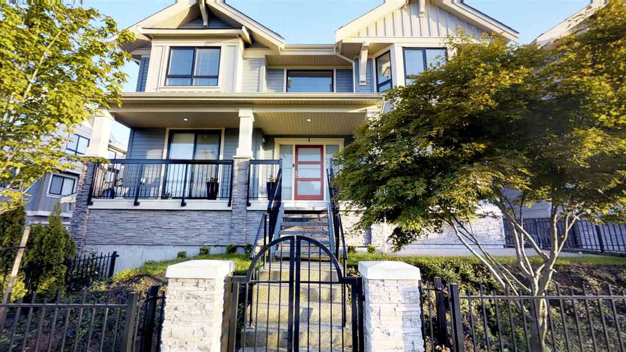 Main Photo: 1 6028 MAPLE Road in Richmond: Woodwards Townhouse for sale : MLS®# R2304028