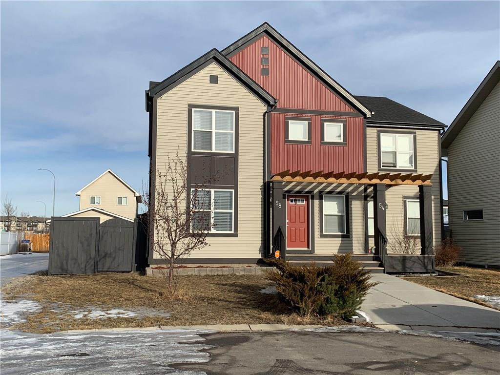 Main Photo: 58 COPPERPOND Place SE in Calgary: Copperfield Semi Detached for sale : MLS®# C4224553