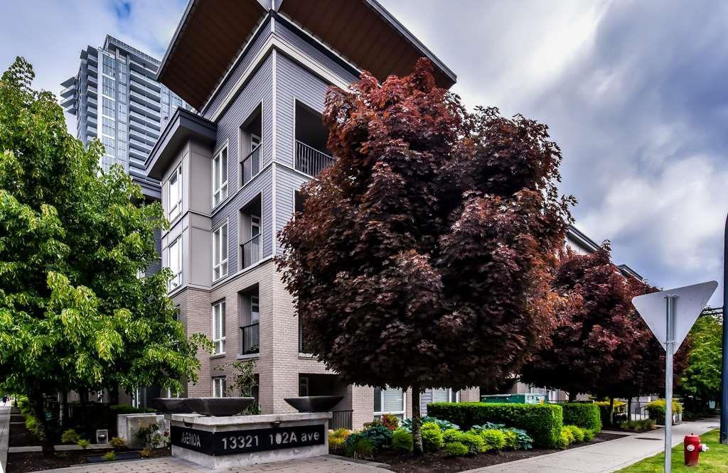 """Main Photo: 104 13321 102A Avenue in Surrey: Whalley Condo for sale in """"AGENDA"""" (North Surrey)  : MLS®# R2375701"""