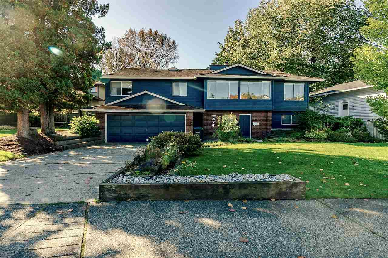 Main Photo: 476 GLENBROOK Drive in New Westminster: Fraserview NW House for sale : MLS®# R2411560