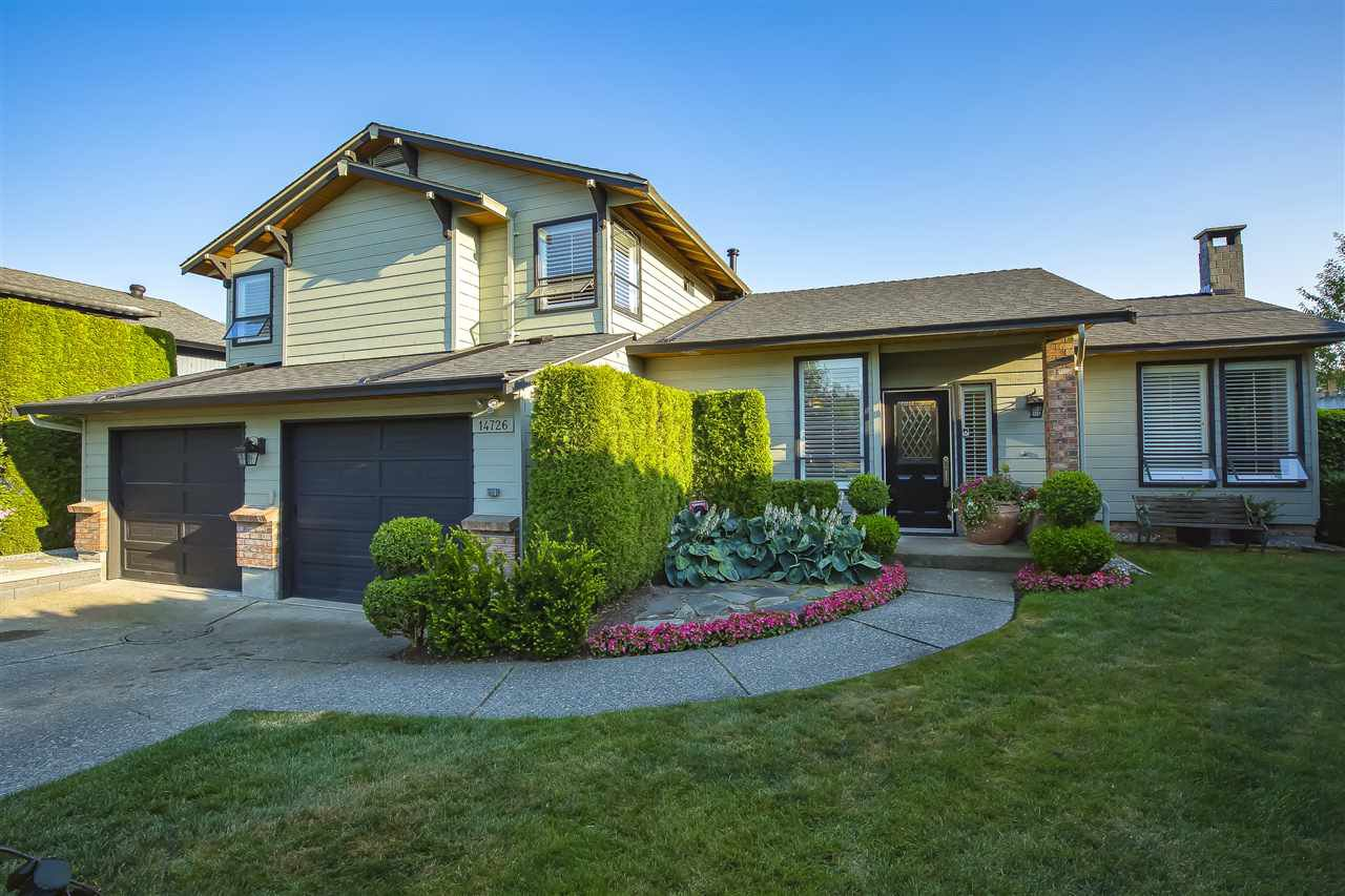 """Main Photo: 14726 89A Avenue in Surrey: Bear Creek Green Timbers House for sale in """"GREEN TIMBERS"""" : MLS®# R2482374"""