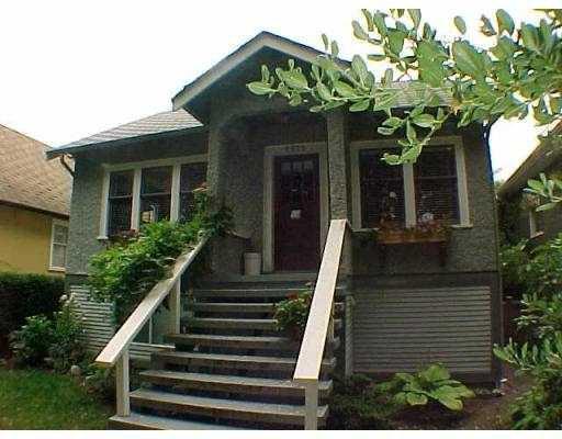 Main Photo: 2659 W 14TH AV in Vancouver: Kitsilano House for sale (Vancouver West)  : MLS®# V558132