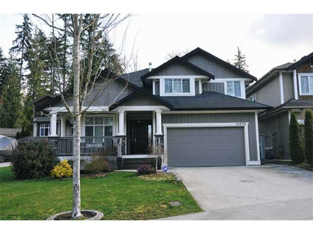 "Main Photo: 10658 244TH Street in Maple Ridge: Albion House for sale in ""MAPLE CREST"" : MLS®# V1053982"