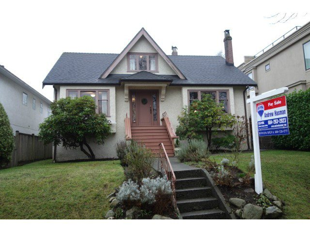 """Main Photo: 3866 W 15TH Avenue in Vancouver: Point Grey House for sale in """"Point Grey"""" (Vancouver West)  : MLS®# V1096152"""