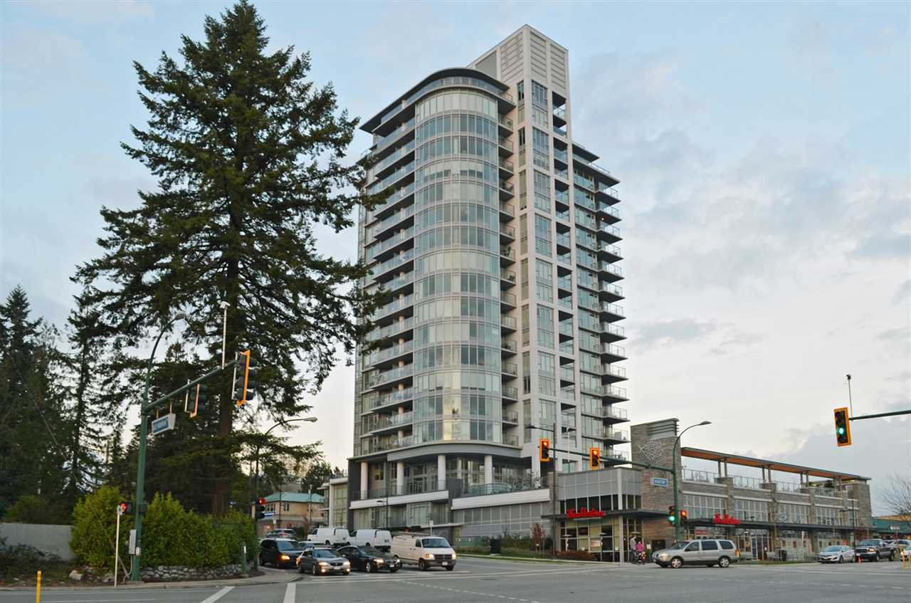 "Main Photo: 1707 958 RIDGEWAY Avenue in Coquitlam: Central Coquitlam Condo for sale in ""THE AUSTIN"" : MLS®# R2042733"
