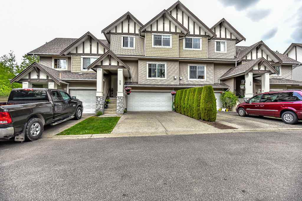 "Main Photo: 29 18181 68 Avenue in Surrey: Cloverdale BC Townhouse for sale in ""MAGNOLIA"" (Cloverdale)  : MLS®# R2072257"