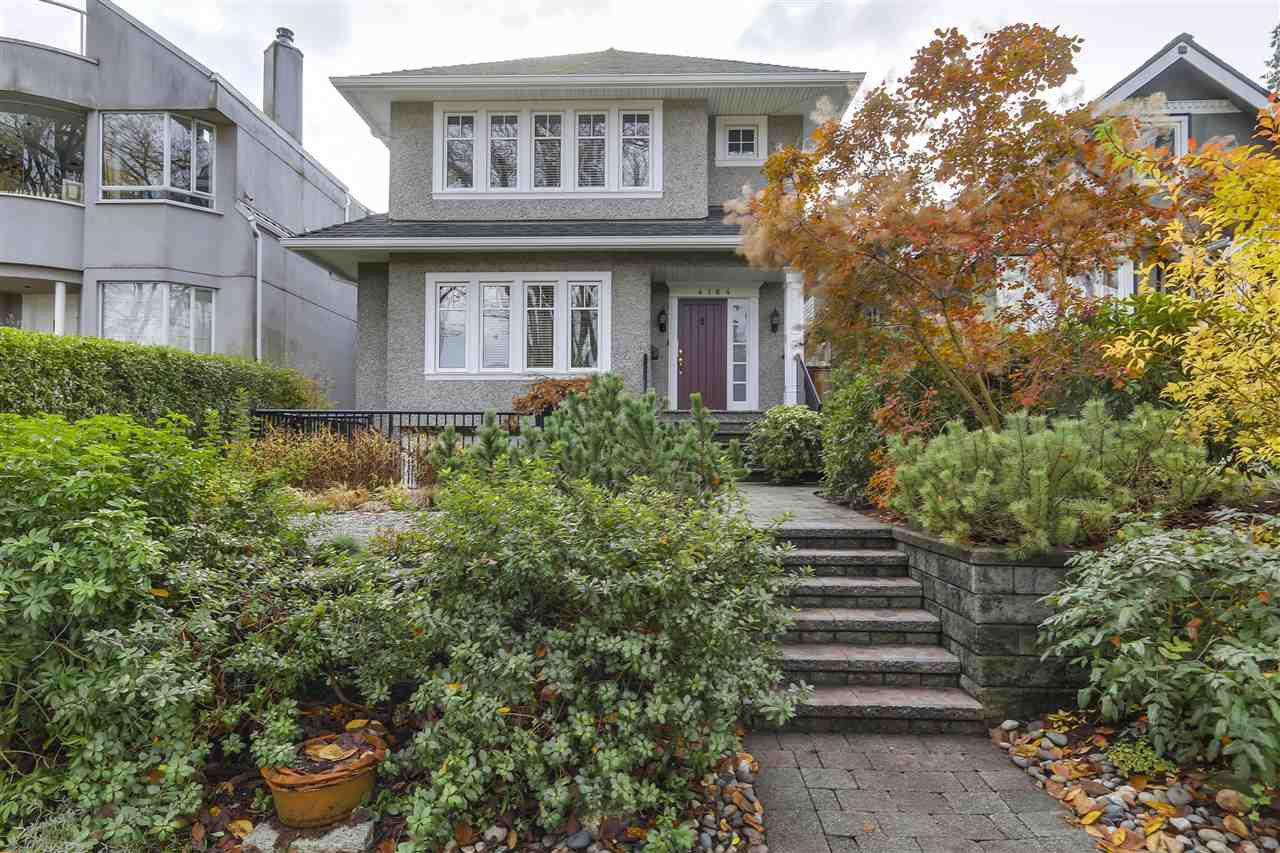 """Main Photo: 4164 W 13TH Avenue in Vancouver: Point Grey House for sale in """"Point Grey"""" (Vancouver West)  : MLS®# R2121523"""