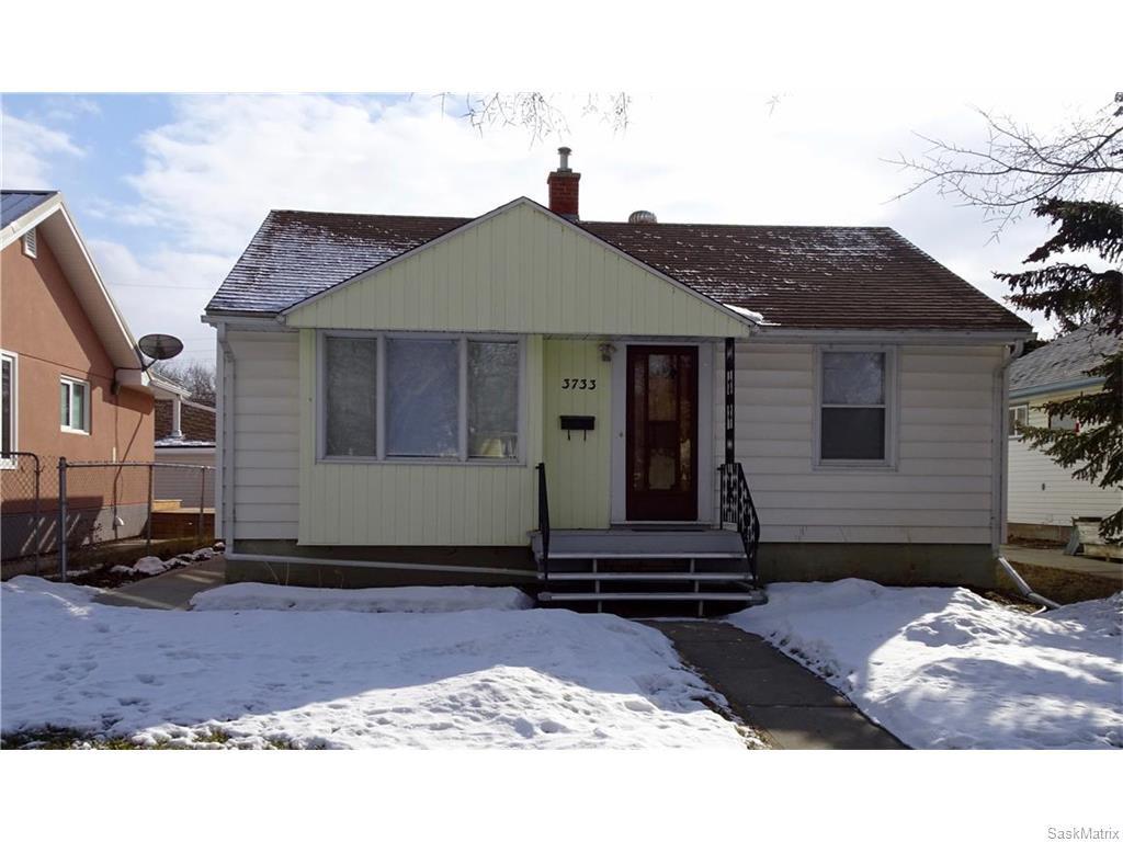 Main Photo: 3733 20TH Avenue in Regina: River Heights Single Family Dwelling for sale (Regina Area 05)  : MLS®# 599426