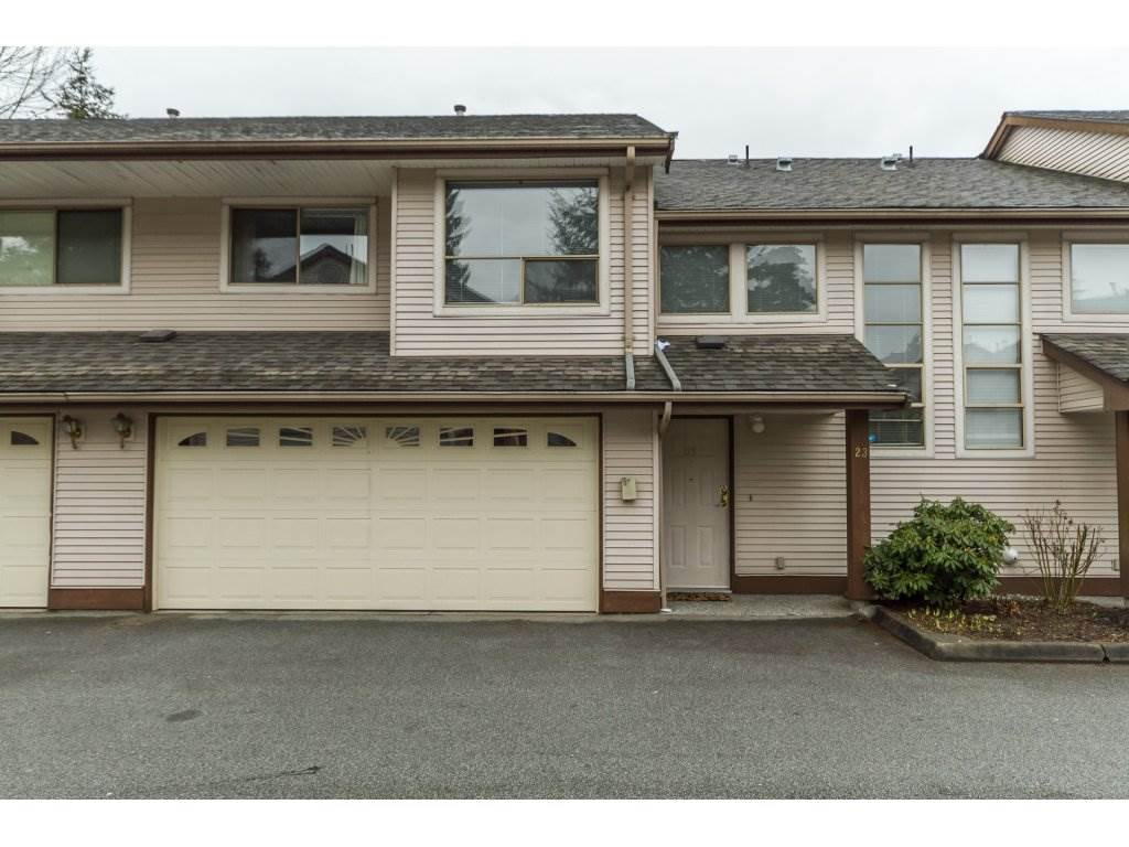 "Main Photo: 23 20841 DEWDNEY TRUNK Road in Maple Ridge: Northwest Maple Ridge Townhouse for sale in ""Kichler Station"" : MLS®# R2145549"