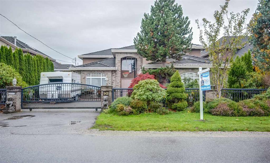 Main Photo: 9431 DESMOND Road in RICHMOND: Seafair House for sale (Richmond)  : MLS®# R2118548
