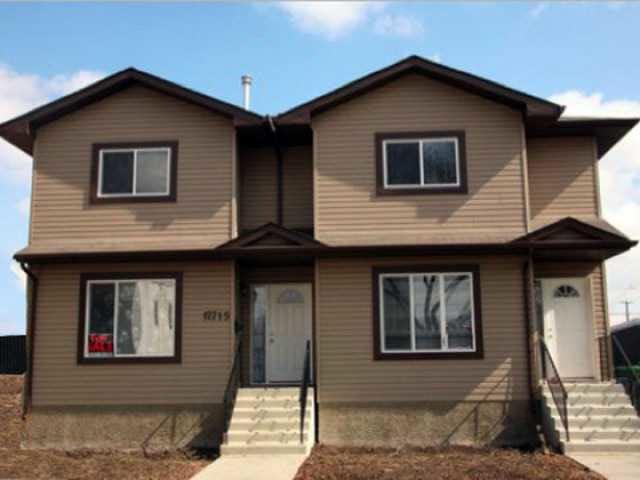 Main Photo: 12715 118 Street in Edmonton: House Half Duplex for sale : MLS®# E3260568