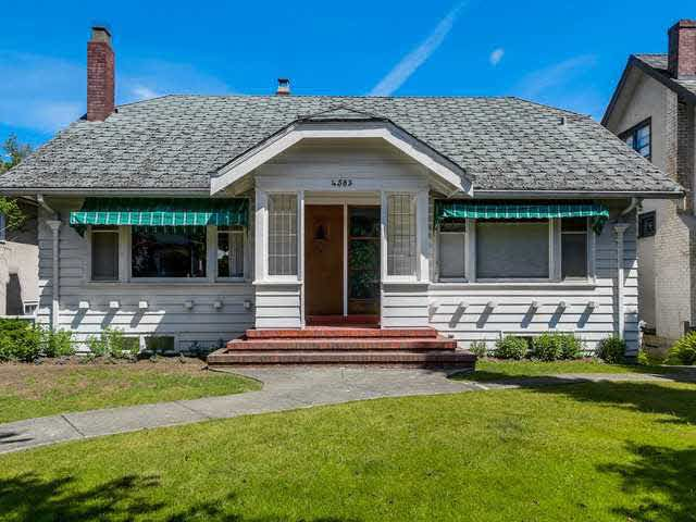 Main Photo: 4583 W 12TH AVENUE in : Point Grey House for sale : MLS®# V1129565