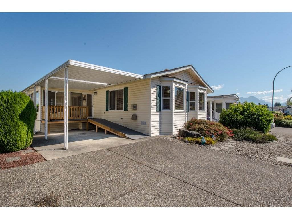 """Main Photo: 158 9055 ASHWELL Street in Chilliwack: Chilliwack N Yale-Well Manufactured Home for sale in """"RAINBOW ESTATES"""" : MLS®# R2300574"""