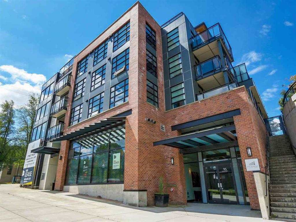 """Main Photo: 405 95 MOODY Street in Port Moody: Port Moody Centre Condo for sale in """"STATION"""" : MLS®# R2350991"""