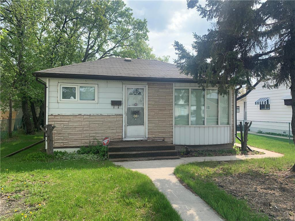 Main Photo: 1150 Magnus Avenue in Winnipeg: Shaughnessy Heights Residential for sale (4B)  : MLS®# 202011716