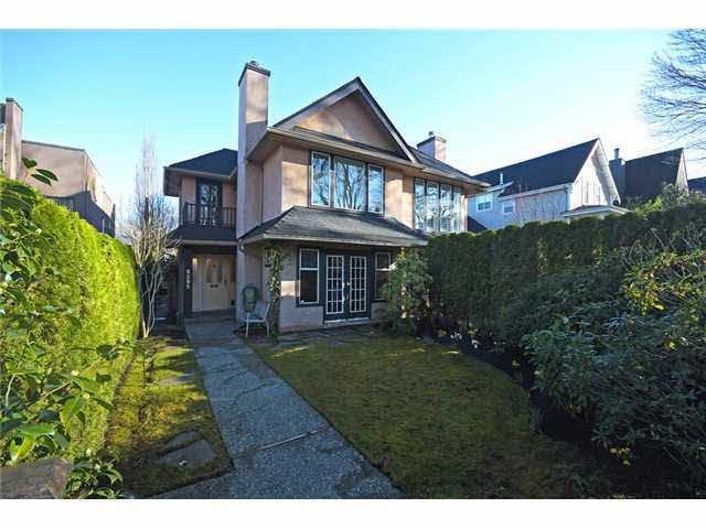 Main Photo: 2157 W 14TH AVENUE in : Kitsilano House 1/2 Duplex for sale : MLS®# V1053978