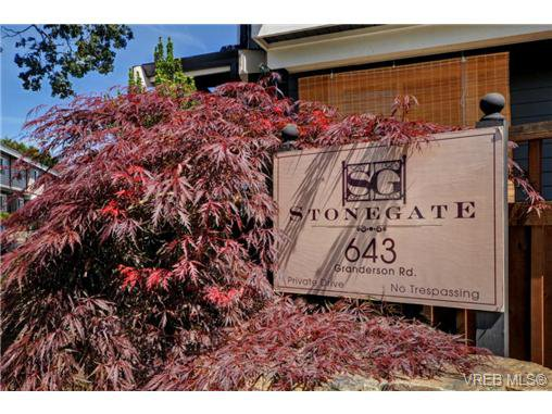 Main Photo: 117 643 Granderson Road in VICTORIA: La Fairway Townhouse for sale (Langford)  : MLS®# 368679