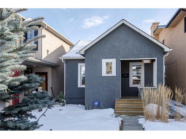Main Photo: 2636 26 Street SW in Calgary: Killarney/Glengarry House for sale : MLS®# C4098902