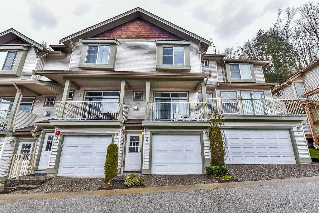 "Main Photo: 27 35287 OLD YALE Road in Abbotsford: Abbotsford East Townhouse for sale in ""THE FALLS"" : MLS®# R2146083"