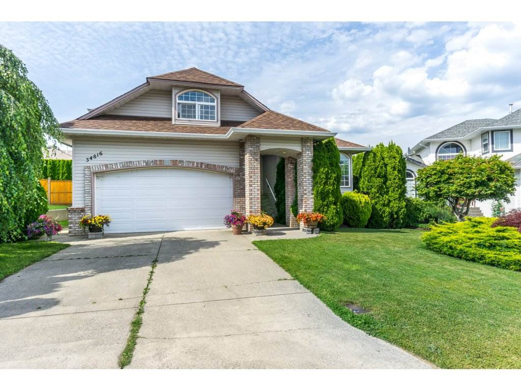 Main Photo: 34816 HARTNELL Place in Abbotsford: Abbotsford East House for sale : MLS®# R2175613
