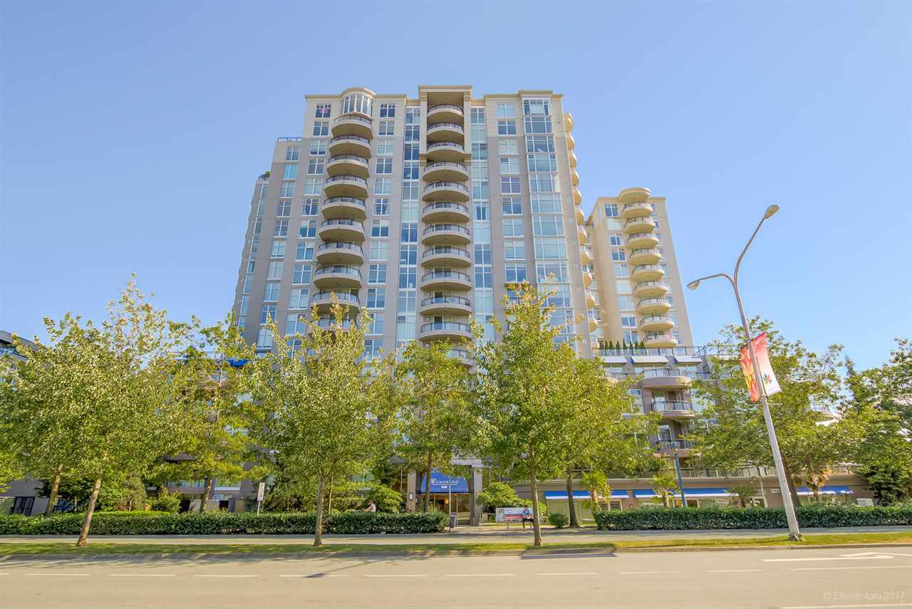 "Main Photo: 805 8460 GRANVILLE Avenue in Richmond: Brighouse South Condo for sale in ""THE PALMS"" : MLS®# R2183275"