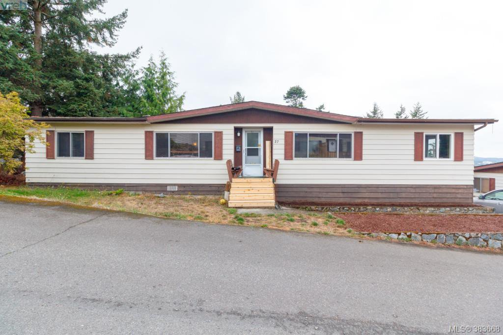 Main Photo: 27 70 Cooper Road in VICTORIA: VR Glentana Manu Double-Wide for sale (View Royal)  : MLS®# 383668