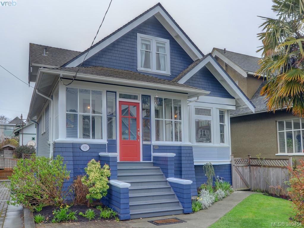 Main Photo: 629 Niagara St in VICTORIA: Vi James Bay Single Family Detached for sale (Victoria)  : MLS®# 782729