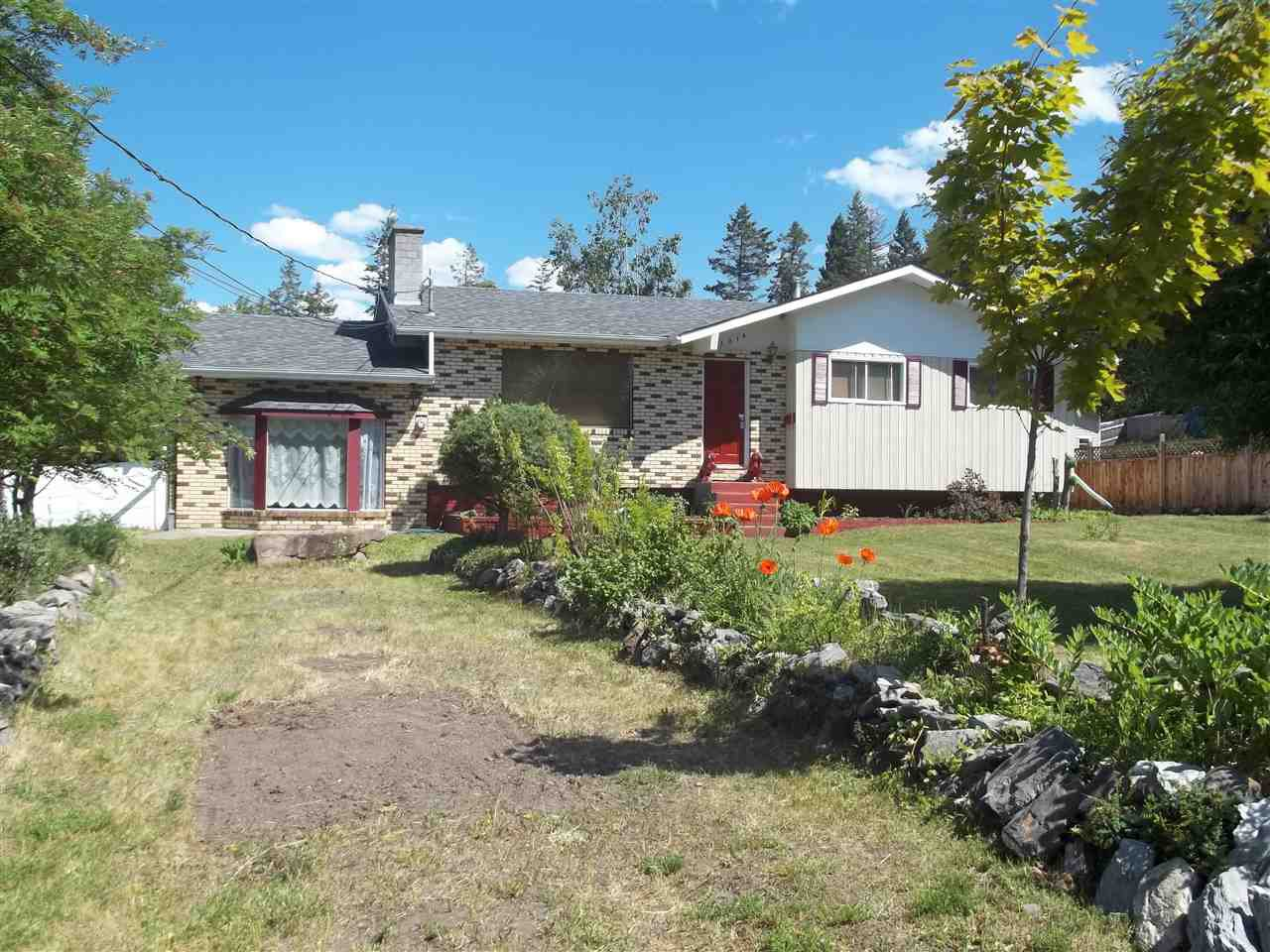 Main Photo: 1016 OPAL Street in Williams Lake: Esler/Dog Creek House for sale (Williams Lake (Zone 27))  : MLS®# R2360279