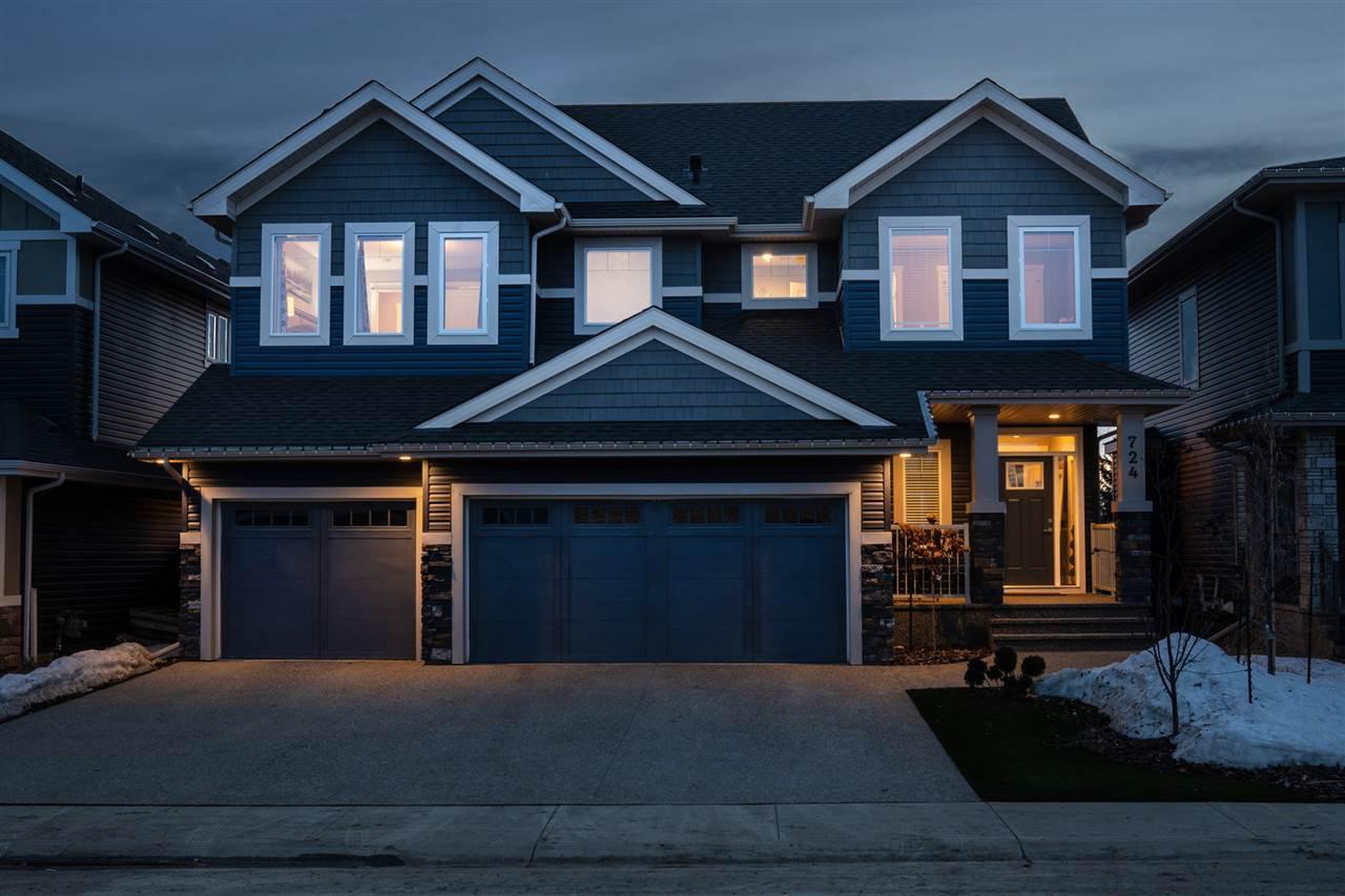 Main Photo: 724 180 Street in Edmonton: Zone 56 House for sale : MLS®# E4194565