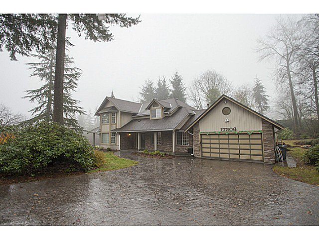 Main Photo: 17306 27A Avenue in Surrey: Grandview Surrey House for sale (South Surrey White Rock)  : MLS®# F1427470
