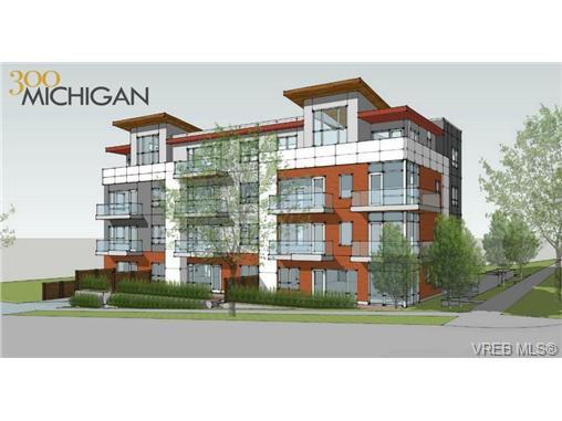 Main Photo: 204 300 Michigan St in VICTORIA: Vi James Bay Condo Apartment for sale (Victoria)  : MLS®# 716240