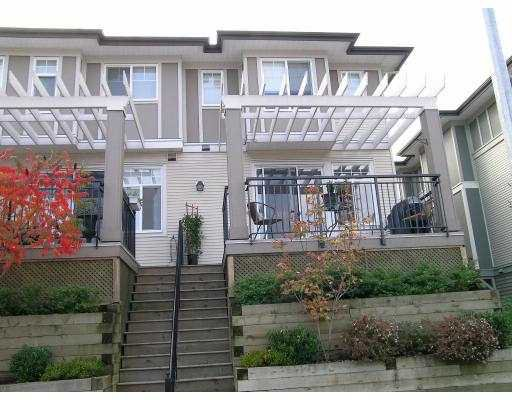 "Main Photo: 1010 EWEN Ave in New Westminster: Queensborough Townhouse for sale in ""WINDSOR MEWS"" : MLS®# V617059"