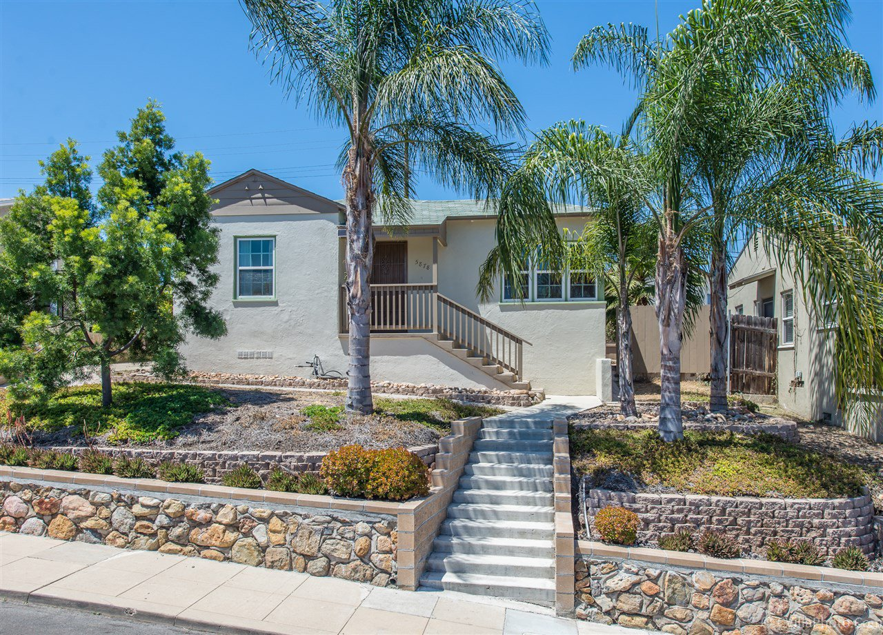 Main Photo: SAN DIEGO House for sale : 2 bedrooms : 5878 Estelle St