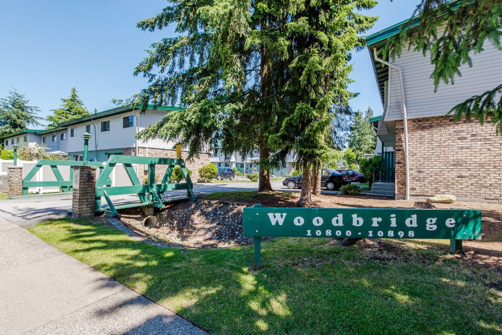 "Main Photo: 53 10836 152 Street in Surrey: Bolivar Heights Townhouse for sale in ""WOODBRIDGE"" (North Surrey)  : MLS®# R2181688"