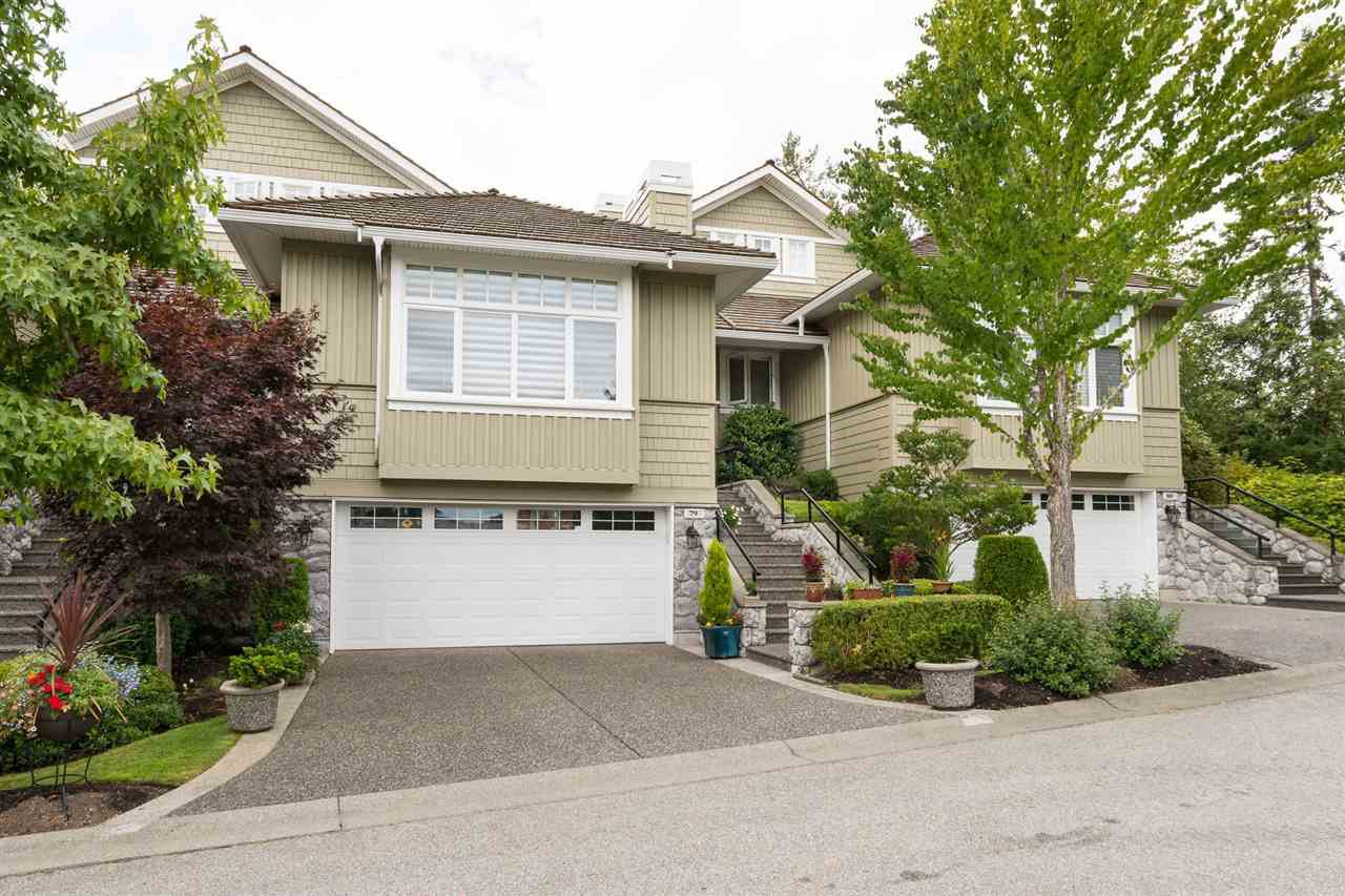 Main Photo: 79 3355 MORGAN CREEK WAY in Surrey: Morgan Creek Townhouse for sale (South Surrey White Rock)  : MLS®# R2198431