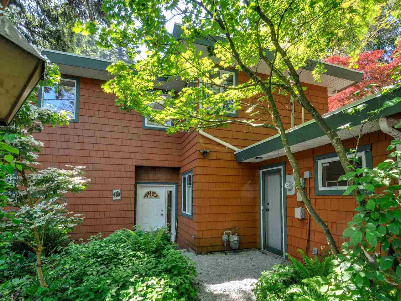 Over 15,000 sqft lot (1/3acre) completely hidden from the road with potential to subdivide. A very special and unique property in Sunny White Rock that must be seen to appreciate