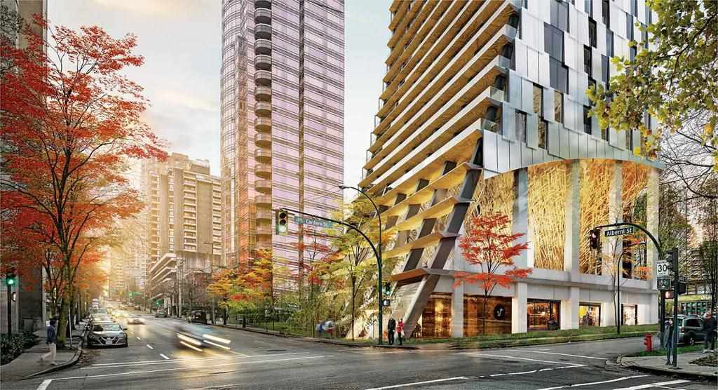 """Photo 4: Photos: 1105 1550 ALBERNI Street in Vancouver: West End VW Condo for sale in """"Alberni By Kengo Kuma"""" (Vancouver West)  : MLS®# R2312651"""
